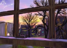 Sunset Window_KittyYeung