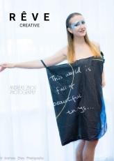 Photographer: Andreas Zhou-Model: Maria Ponomarchuk - Designer: Kitty Yeung