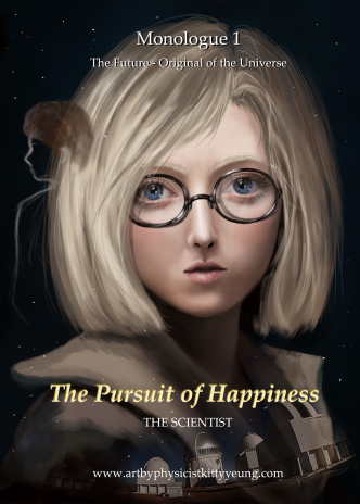 A contemporary astronomer and engineer who loves nature, humanity and culture and sees the beautiful things in the world but is bothered by the problems in the society. She dreams of a better future.